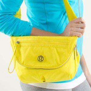 LULULEMON Festival Bag Sizzle Yellow Crossbody